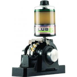 LUB5 - LUBRIFICADOR ELETROMECÂNICO AUTOMÁTICO MONOPONTO - GRUETZNER |LUB_5