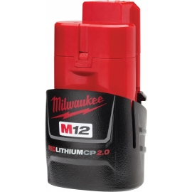 BATERIA M12 2,0 AH - MILWAUKEE