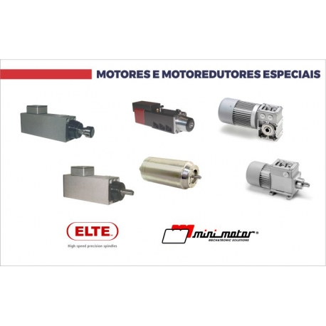 Motores e Motoredutores Especiais