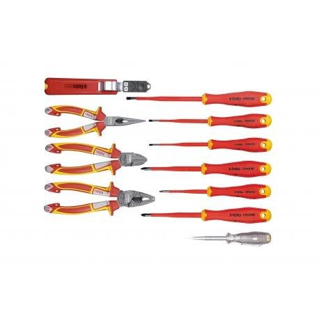 KIT VDE E-SLIM MODELO 413 - FELO (11 PÇS) - FELO |41381104_tools