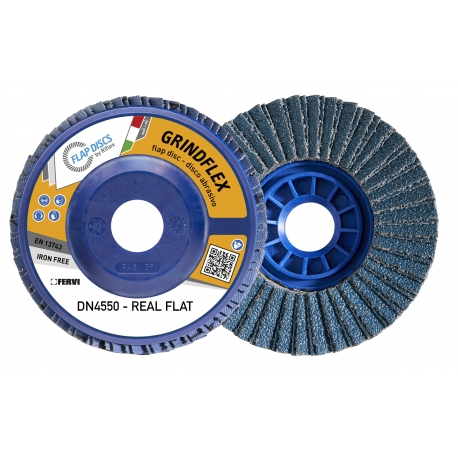 DISCOS LAMELARES - SÉRIE GRINDFLEX REAL FLAT (Tipo: GRANA 40) |DN4550-Z