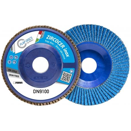 DISCOS LAMELARES - SÉRIE ZIRCOCER CLASSIC (Tamanho: DISCO PLANO, Material: NYLON, Tipo: GRANA 40+) |DN9100-ZC