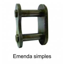 EMENDA SIMPLES DE ROLO NORMA DIN -