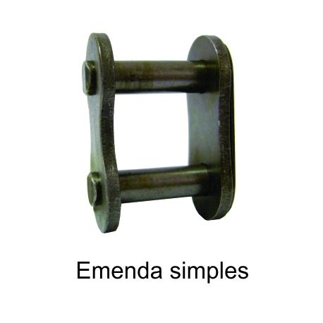 EMENDA SIMPLES DE ROLO NORMA DIN (Tipo: 43104) |fotov1pag36c