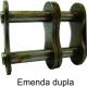 EMENDA DUPLA DE ROLO NORMA DIN (Tipo: 06 B2) |fotov1pag36d