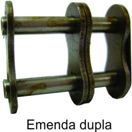 EMENDA DUPLA DE ROLO NORMA DIN -