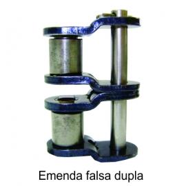 EMENDA DUPLA FALSA DE ROLO NORMA DIN