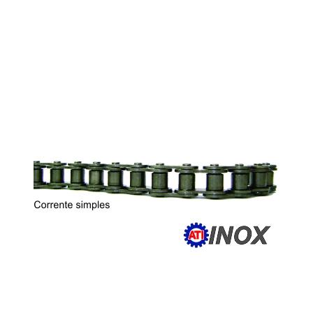 CORRENTE SIMPLES DE ROLO NORMA DIN INOX (Tipo: 06B-1) |fotov1pag38a