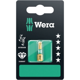 BITS TORX 1/4 HEXAGONAL DIAMOND - WERA