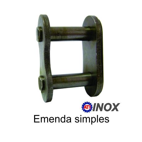 EMENDA SIMPLES DE ROLO NORMA DIN INOX (Tipo: 06B-1) |fotov1pag38c