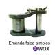 EMENDA SIMPLES FALSA DE ROLO NORMA DIN INOX (Tipo: 06B-1) |fotov1pag38e